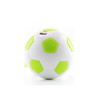 Внешний аккумулятор power bank в виде мяча