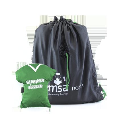 Промо рюкзак с нанесением фирменной символики