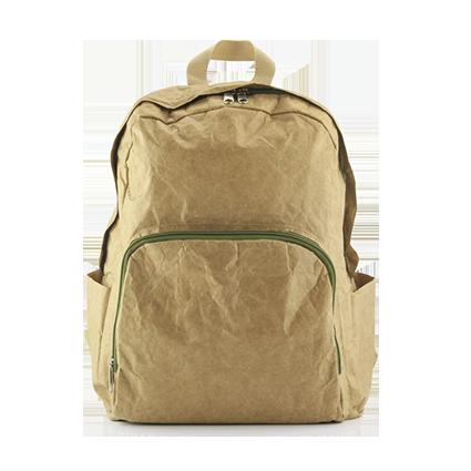 Рюкзак из тайвека с логотипом